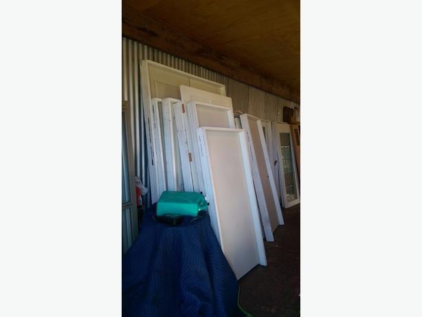 miscellaneous leftover doors