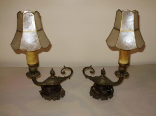 Two Jeannie lamps