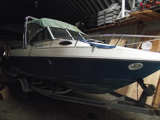 18.5FT MALIBU CUDDY FISH OR CRUISE PODDED W/115 OCEAN PROPOR