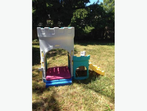 Fisher Price Outdoor Sandbox Castle Climber