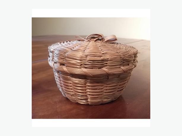 Native-Made Trinket Basket