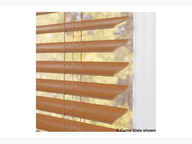 Brand New Two Faux Wood Blinds For The Windows Central