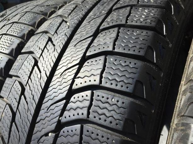 Installed and balanced Set of 4 205 55 16 Michelin X iCE