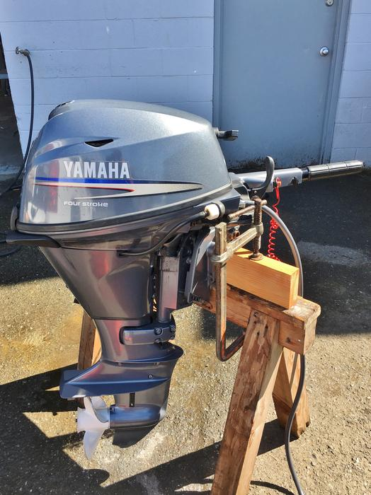 Yamaha 15 hp outboard outside nanaimo parksville qualicum for Yamaha 100 hp outboard for sale