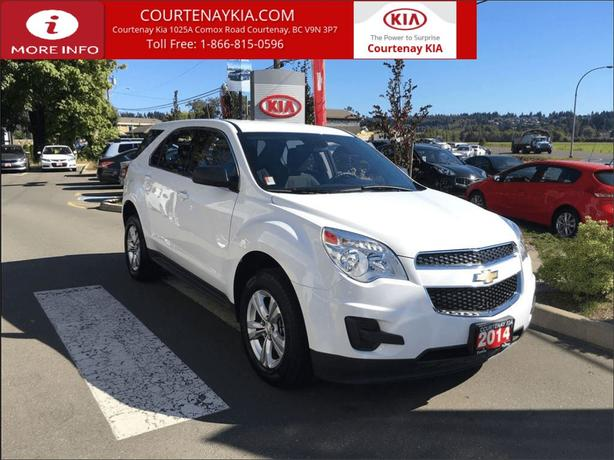 2014 Chevrolet Equinox LS | Ultra Low KM | Was $25,995 Now - $24995