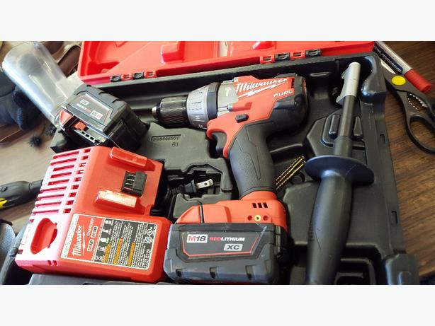 "Milwaukee M18 FUEL 1/2"" Hammer Drill/Driver"
