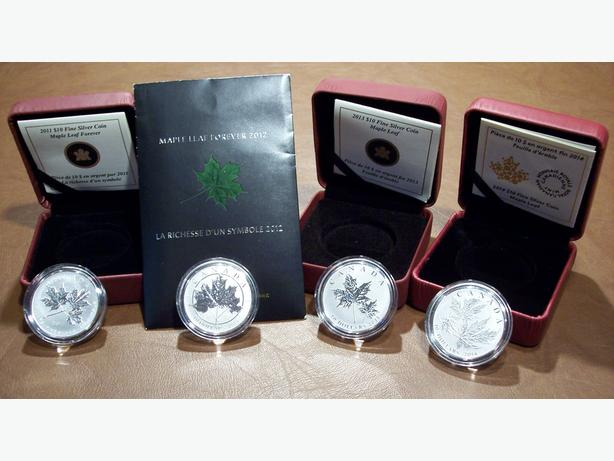 """The Iconic 'MAPLE LEAF FOREVER"""" Coins"""