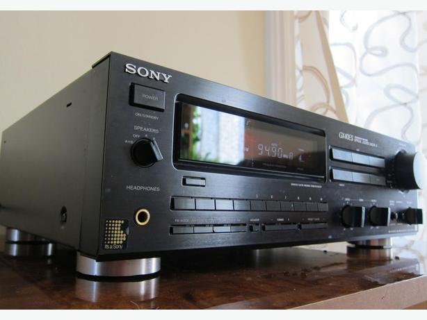 SONY ES GX40ES HIGH PERFORMANCE STEREO RECEIVER *JAPAN*