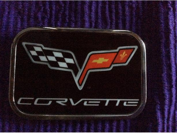 Corvette belt buckle for sale