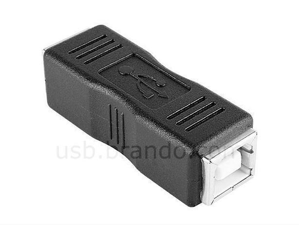 USB 2.0 USB B (F) to USB B (F) Adapter Coupler