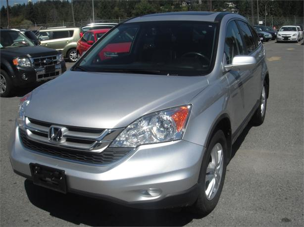 2010 honda cr v ex l 4wd navigation outside comox valley for Honda crv exl with navigation