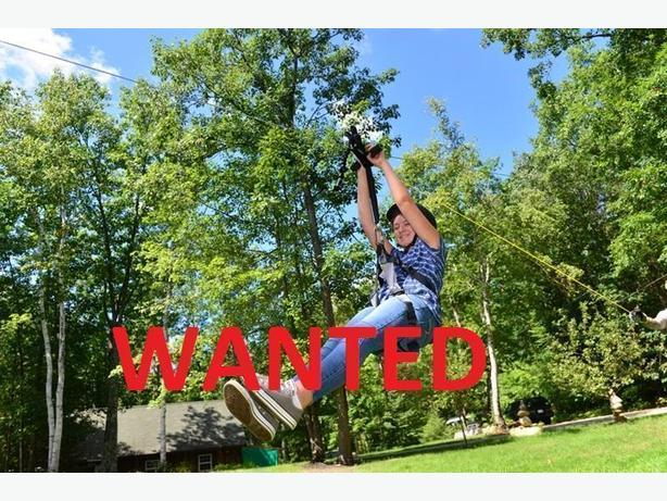 WANTED: Zipline