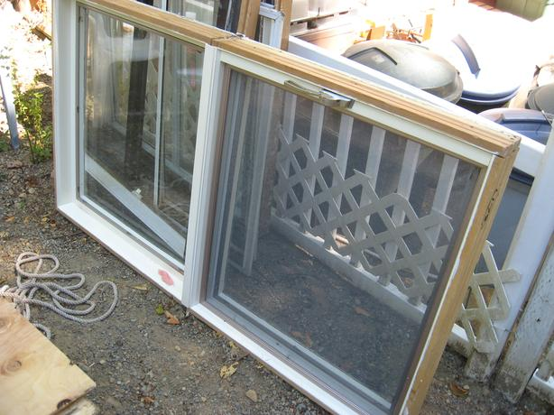 2 large 3x5 ft. complete windows