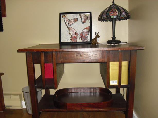 """Charles Dickens"" Oak Desk"