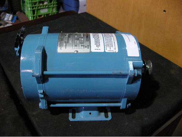 Blufton 1 4 hp explosion proof electric motor i 57820 for Explosion proof dc motor