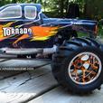 NEW 1/8 SCALE TORNADO PRO NITRO 4WD RC TRUCK
