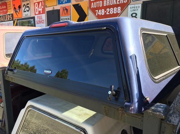 """11th Generation (2004–08) Ford F150 Dark Blue """"Ranch"""" Canopy 69"""" Box"""
