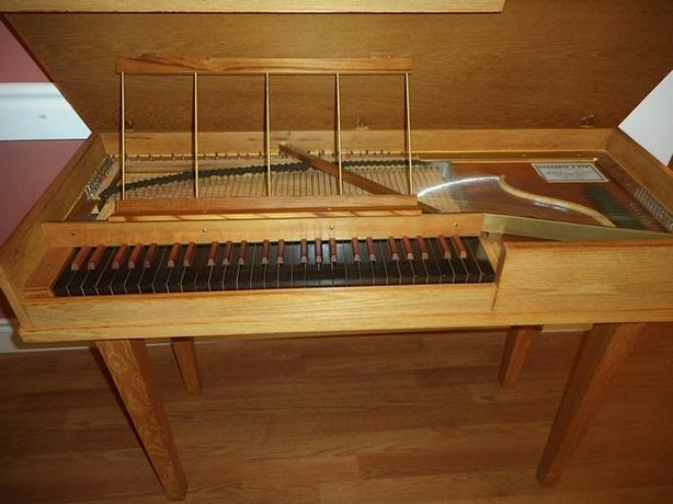 Antique 1967 Sabathil & Son built Clavichord