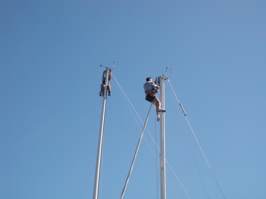 Sailboat Rigging Vancouver Island