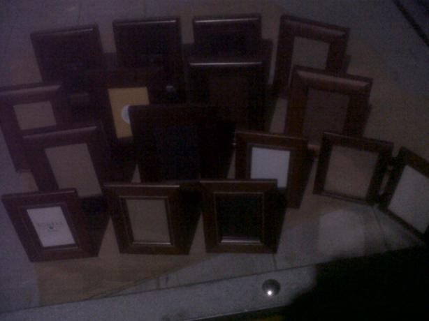 "4""x6"" Bombay wooden picture frames"