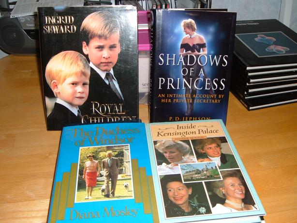hard copy books on royalty