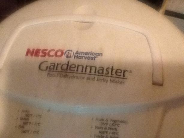 WANTED: NESCO GARDENMASTER DEHYDRATOR