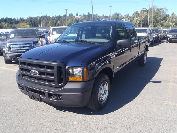 2006 ford f 250 sd xl crew cab long bed 2wd outside comox valley courtenay comox. Black Bedroom Furniture Sets. Home Design Ideas
