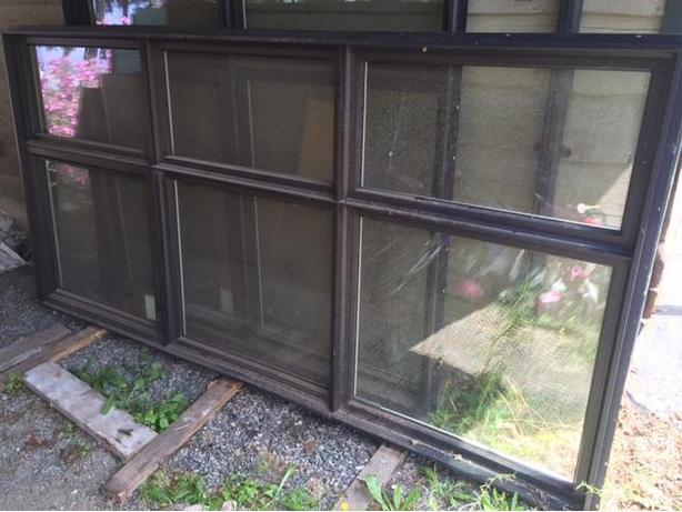 Black, rain screen, Starline window