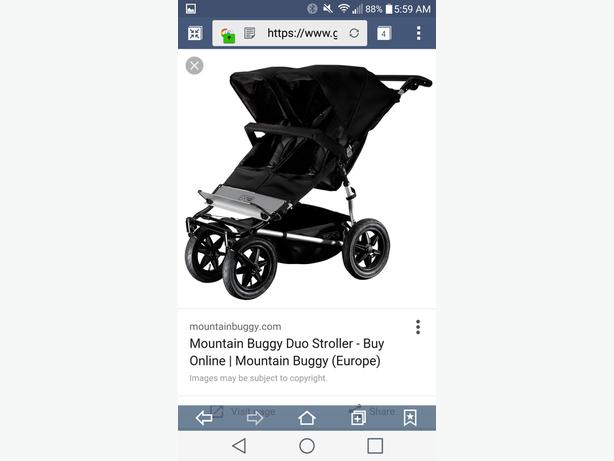 Mountain buggy Duo Stroller