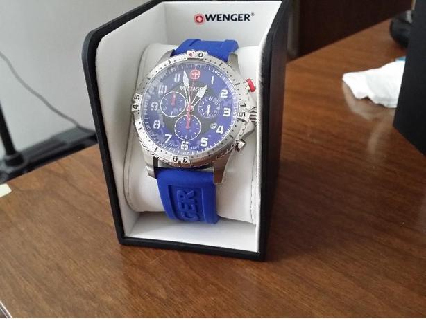 Wenger Swiss Men's Military Squadron Chronograph - New