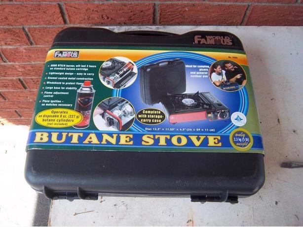 """World Famous"" Portable Butane stove"