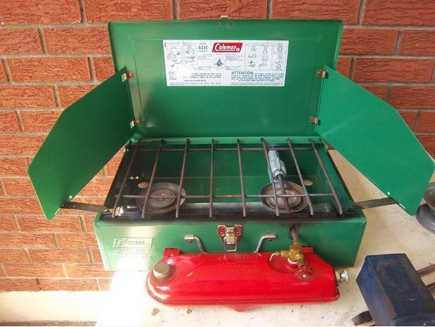 2 burner Naphtha Coleman stove