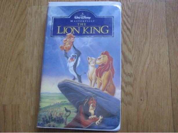Lion King VHS