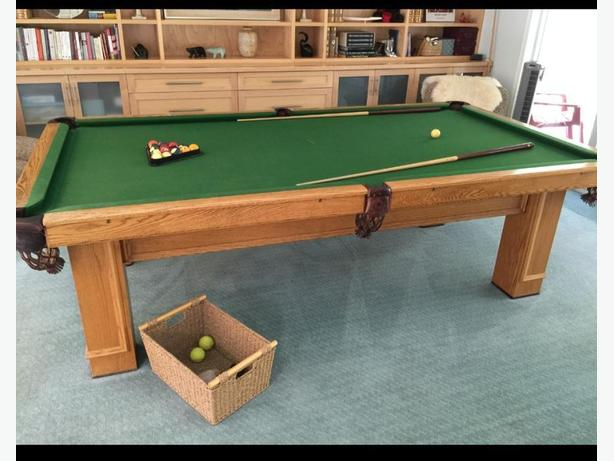 4 1/2 × 9 National snooker pool Table