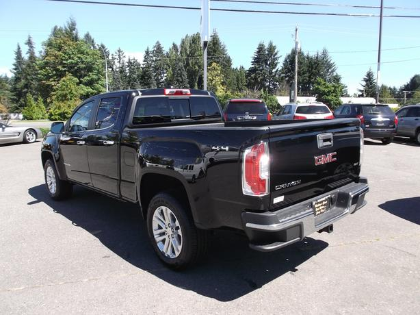 2016 used gmc canyon slt crew cab 4x4 for sale outside metro vancouver vancouver mobile. Black Bedroom Furniture Sets. Home Design Ideas