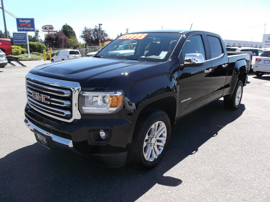 2016 used gmc canyon slt crew cab 4x4 for sale outside nanaimo nanaimo. Black Bedroom Furniture Sets. Home Design Ideas