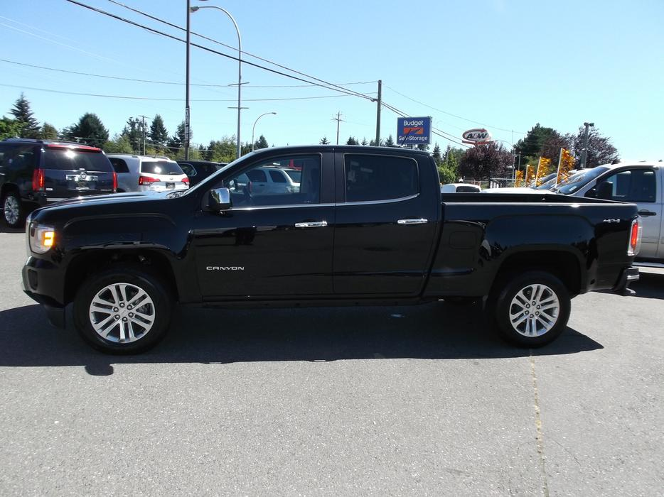 2016 used gmc canyon slt crew cab 4x4 for sale outside cowichan valley cowichan mobile. Black Bedroom Furniture Sets. Home Design Ideas