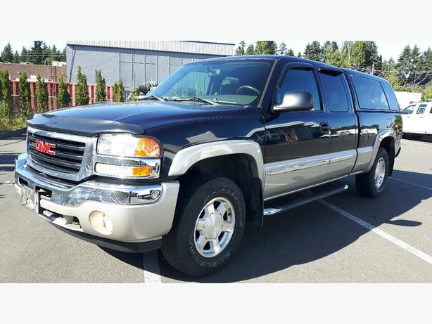 used 2005 gmc sierra 1500 4x4 extended cab for sale in parskville outside comox valley. Black Bedroom Furniture Sets. Home Design Ideas