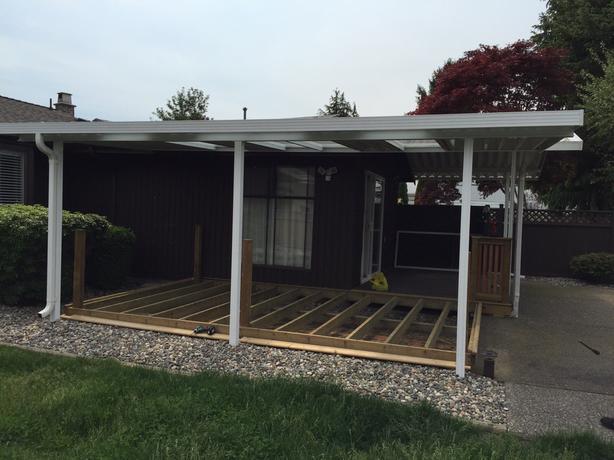 Aluminum Patio Cover & Sunroom Roof Esquimalt & View Royal