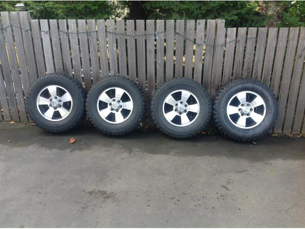 Toyota Tacoma tires and rims
