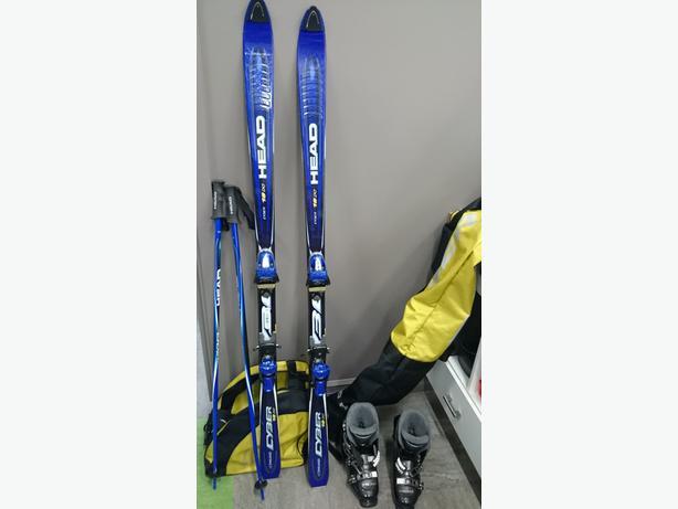 Ensemble complet de ski alpin