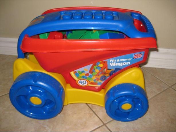 MEGA BLOKS - Wagon