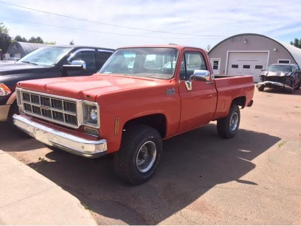 1977 GMC Short Wheel Base 4x4