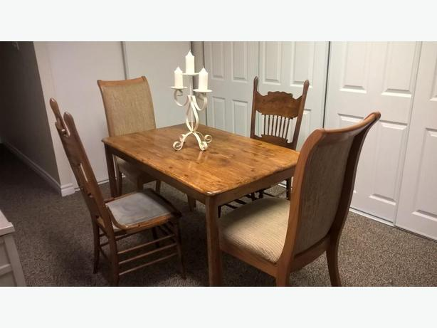 Rustic Style 5 Piece Dining Set for sale I DELIVER  : 54386153614 from www.usedgatineau.com size 614 x 461 jpeg 31kB