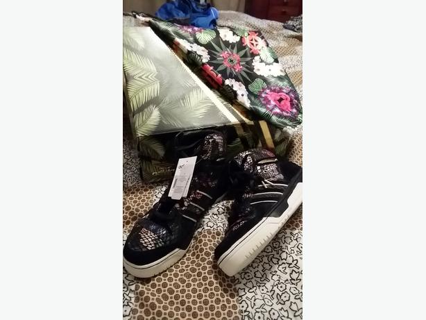 Big Sean X Adidas Originals Metro Attitude Hawaiian Tropical Floral Snake