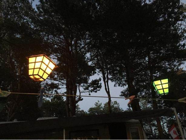 WANTED: patio lights