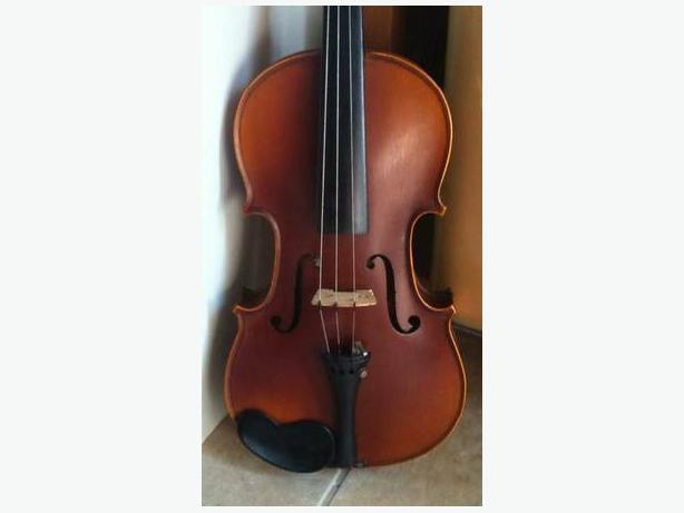 Old French 3/4-size Violin and Bow