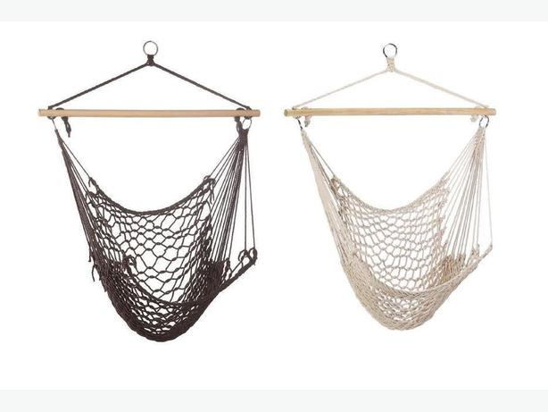 Rope Hammock Swing Chair Mix & Match Any 2 Brown Neutral New