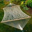 Double 2-Person Rope Hammock & Swing Chair 2PC Mixed Lot New