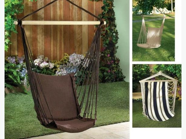 Indoor Outdoor Hammock Swing Chairs 3 Different Choose Any 2 New